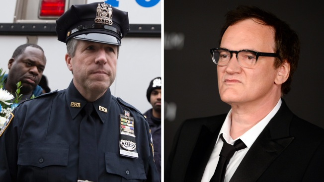 Tarantino's Dad: Quentin Wrong to Call Cops 'Murderers'