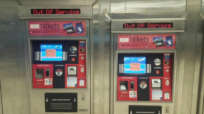 Hackers attack San Francisco's transit system, resulting in free rides