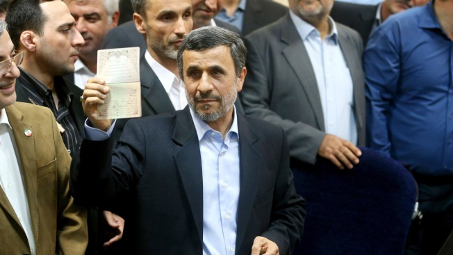 Ahmadinejad To Run In Iran Presidential Election, Defying Ayatollah's Orders