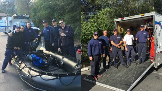 Busy Swift Water Rescue Team Back Home After Stints in Sacramento, Los Gatos