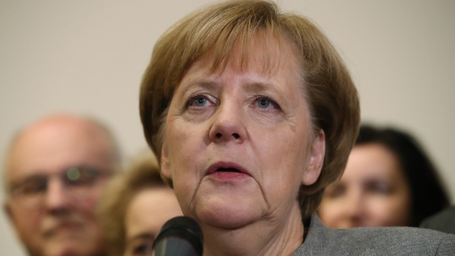 1st LD Writethru: Merkel rejects snap elections after failed gov't coalition talks