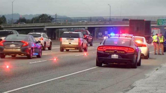 Vehicle Strikes, Kills Pedestrian on Highway 101 in Millbrae