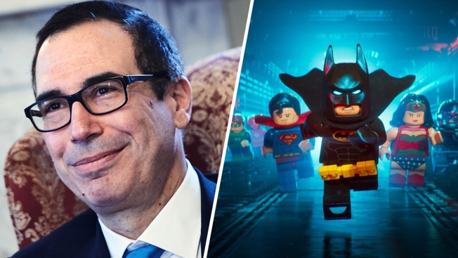 Treasury's Mnuchin admits he broke ethics rule in 'Lego Batman' promo