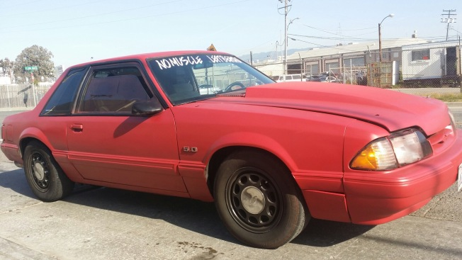 """CHP Arrest 3 After Sideshow Including Driver of """"No Muscle Left Behind"""" Ford Mustang"""