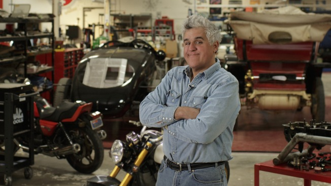 Jay Leno and Jerry Seinfeld Get Back Behind the Wheel