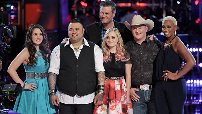 """The Voice"" Playoffs: Blake Picks Sisaundra, Audra and Jake for His Finals-Bound Team"