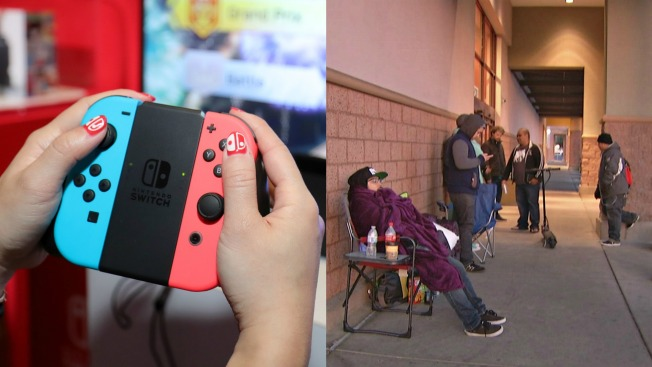'I Just Really Want One': Gamers Flock to Bay Area Stores for Nintendo Switch Release