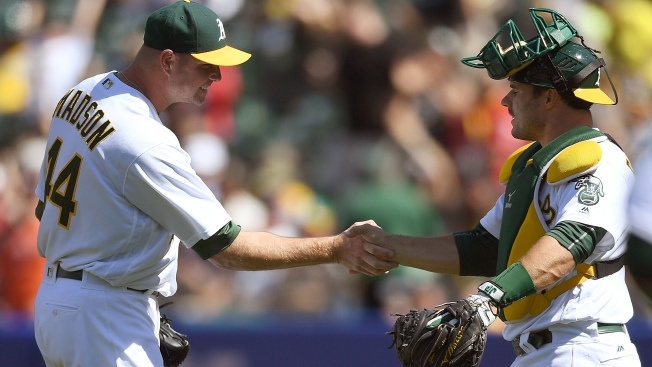 Hahn Dazzles in Debut, A's Shut Out Astros