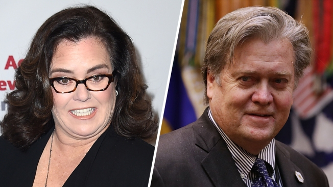 Rosie O'Donnell looks like Steve Bannon in Twitter photo