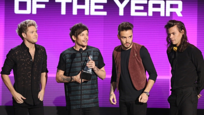 One Direction Wins Big at American Music Awards