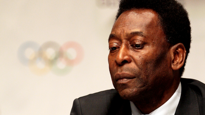 Soccer Legend Pele Won't Light Olympic Cauldron, Cites Health