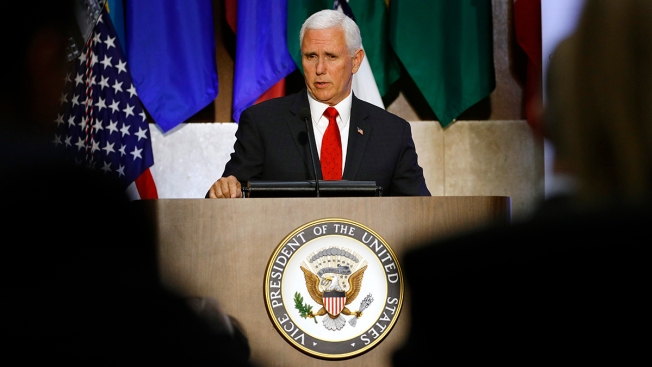 Mike Pence Announces Lifting of Sanctions on Venezuelan General Who Broke With Maduro