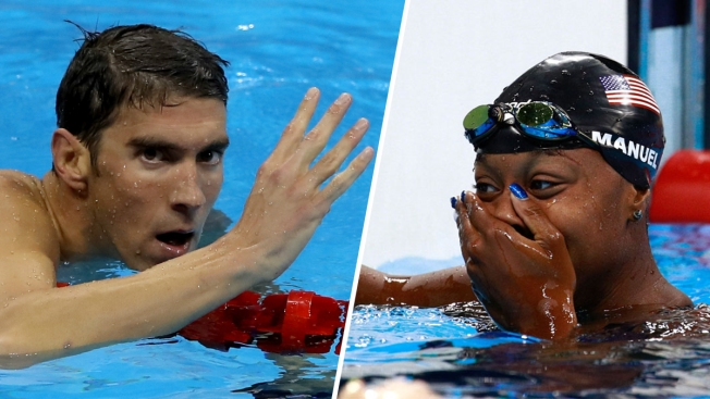 Phelps Wins Gold in 200 IM For Fourth Straight Olympics; Manuel Makes History in 100 Freestyle