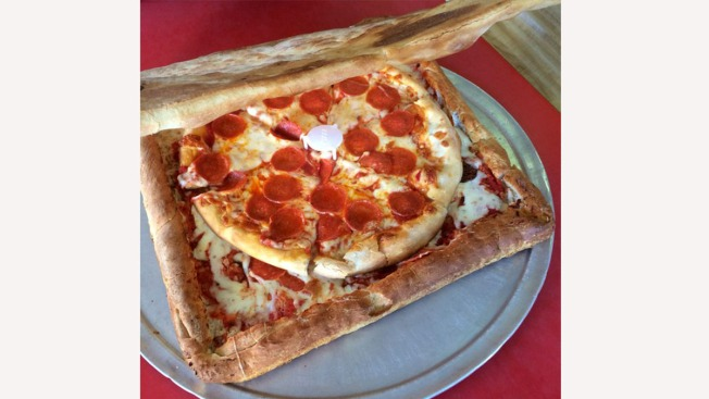 NYC Restaurant Makes Pizza Box Out of Pizza