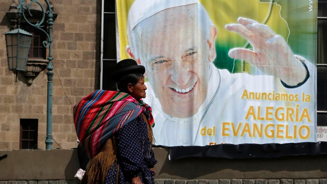 On His Native Turf, Pope Francis Brings Message of Solidarity With Poor