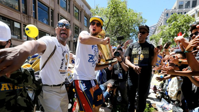 Steph Curry's Personal Security Detail Ralph Walker Returns
