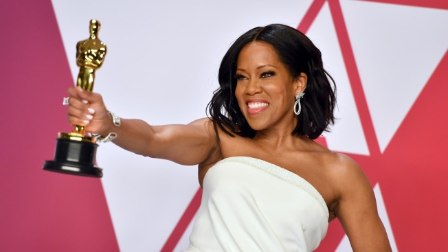 Regina King Wins Oscar for 'If Beale Street Could Talk'