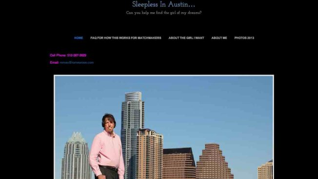 "Texas Man Responds to ""Sleepless in Austin"" Critics Over Viral Dating Stunt"