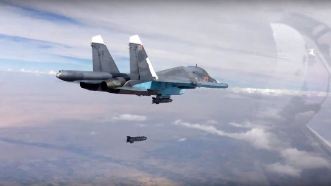 Russian Airstrikes Bringing Destruction to Syria, Residents Say
