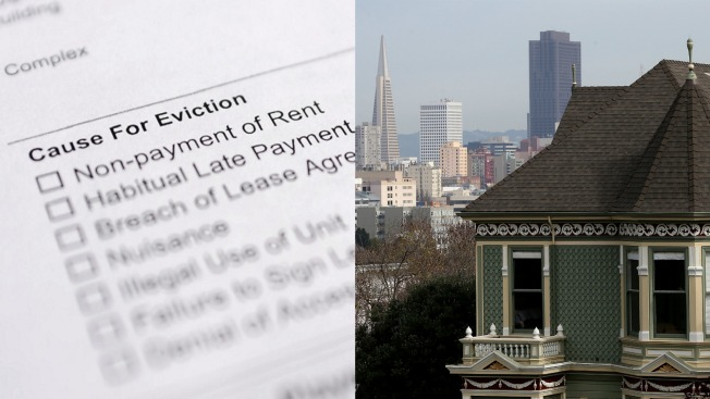 San Francisco Evictions Decline for First Time Since 2010