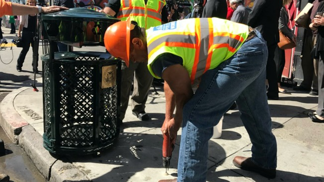 San Francisco Tackles Waste by Installing New Trash Cans Along Mission Street