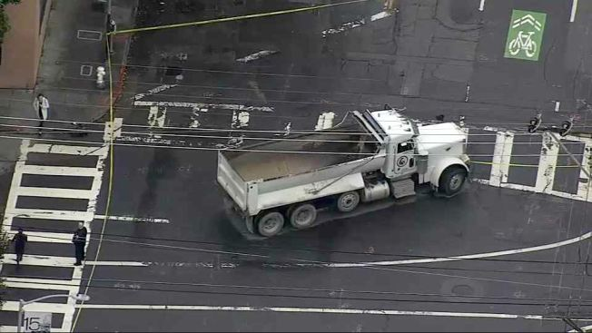 Commercial Vehicle Hits Pedestrian in San Francisco