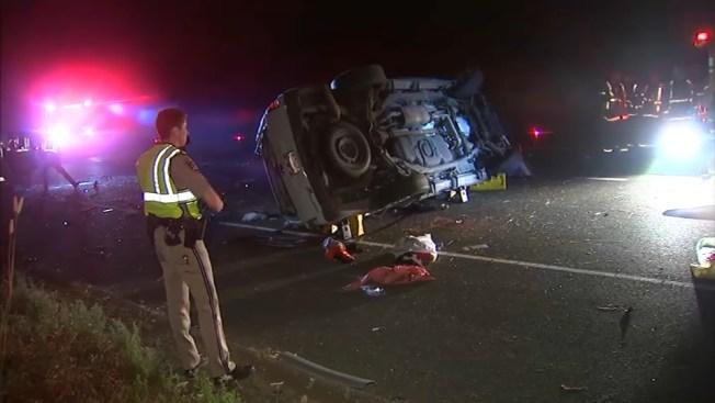 Driver Dies, Passenger Hurt in Crash on Highway 101 in San Rafael