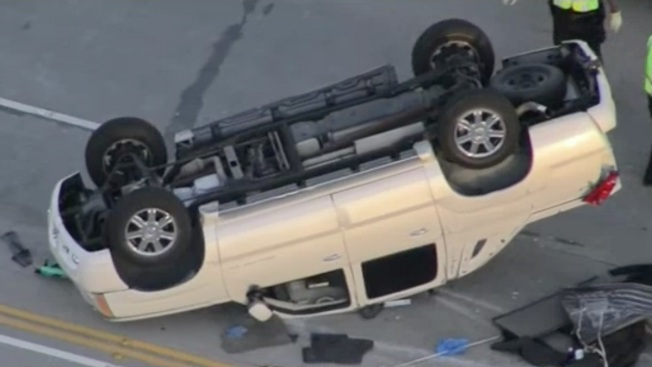 Road Rage: Motorcyclist Kicks Sedan, Sparks Chain-Reaction Crash