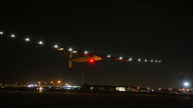 Solar Plane On Last Leg Of World Tour