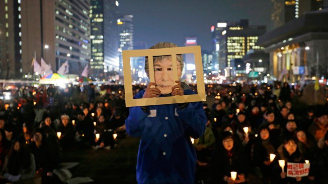S. Korean Police Say Man Burns Late Dictator's Home