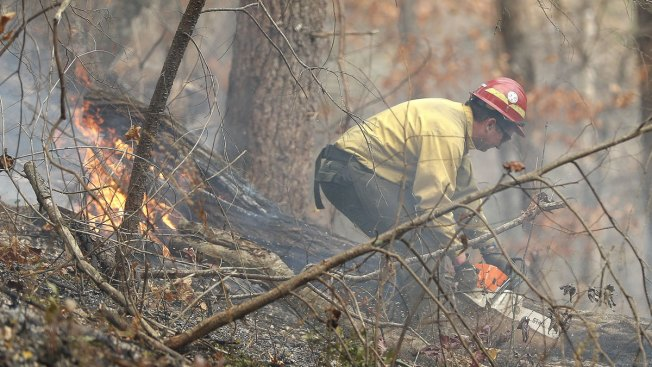 Southern Wildfires: Over 80K Acres Burn as Officials Warn Against Arson
