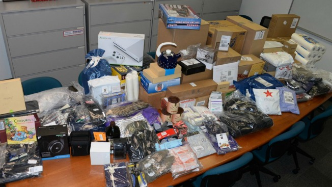 Not in the Spirit of Giving: Slew of South Bay Package Thieves Arrested