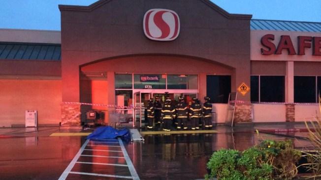 1 Injured In Partial Roof Collapse At San Jose Safeway
