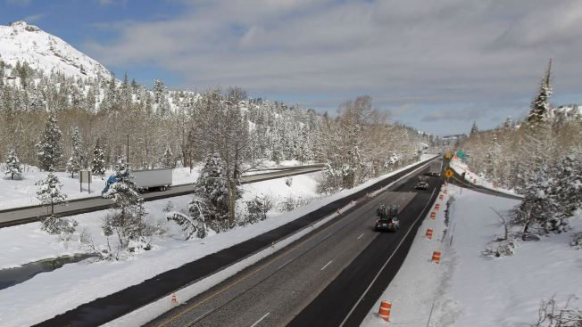 Thanksgiving Traffic Around Lake Tahoe to See Rain, Snow