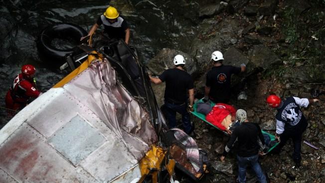 Twenty Dead in Bus Crash in Southern Mexico