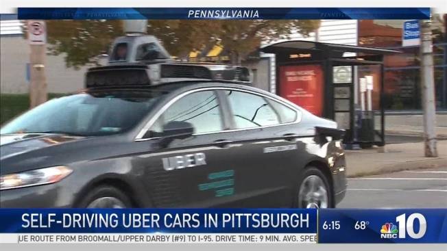 18ee1c4fc89c Uber Gives Riders a Preview of the Driverless Future - NBC Bay Area