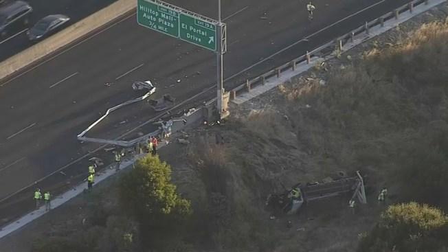 Man Dies in Crash Along Eastbound Interstate 80 in Richmond