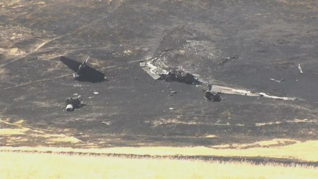 One Pilot Dead, Another Injured After US Air Force Plane Crashes North of Sacramento