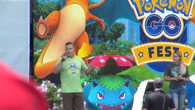 Pokémon Go Fest Attendees Refunded as Glitches Plague Event - NBC