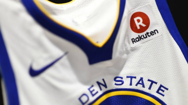 differently 21442 46cf2 Golden State Warriors Jerseys to Feature Rakuten Badge - NBC ...
