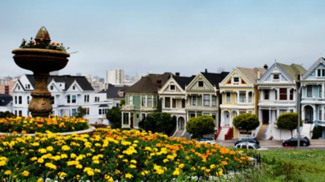 A Portion of Alamo Square Park, near 'Painted Ladies,' to Open For Photo Opps