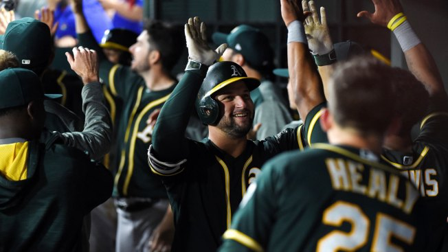 Yonder Alonso Rewarded for Breakout Season, Named to 2017 AL All-Star Team