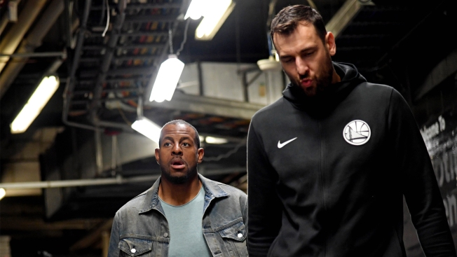 Andrew Bogut Jokes Andre Iguodala Should Ditch Grizzlies for Australia
