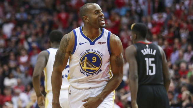 Warriors Honor Andre Iguodala With Video Highlighting Championship Moments