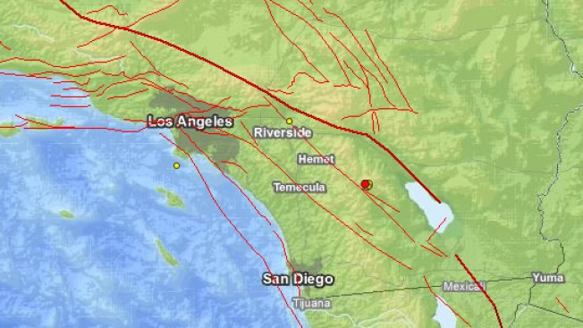 Magnitude-3.5 Quake Strikes Near Site of Monday's Temblor