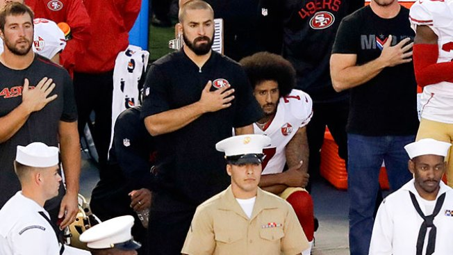 Protests during national anthem escalate