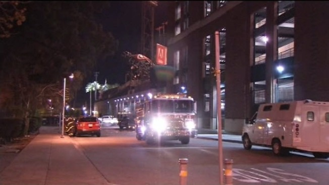Fire Breaks Out in AT&T Park Clubhouse