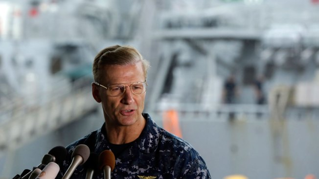 Naval Academy grad assumes command of 7th Fleet after collision