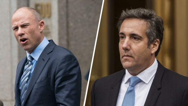 Trump's Personal Lawyer Wants Stormy Daniels' Lawyer Gagged