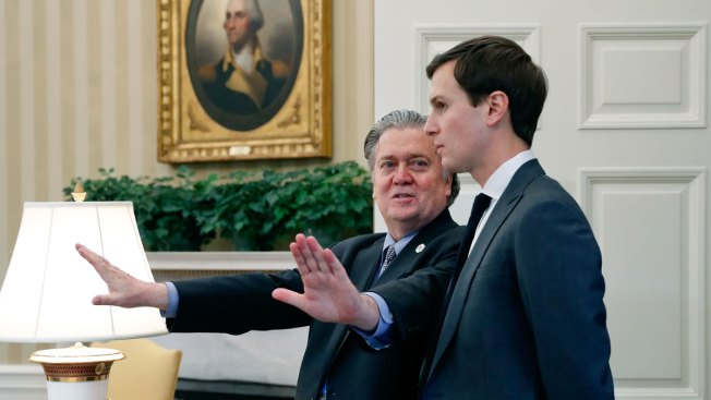 Kushner and Bannon attempt to smooth things over